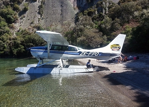 Taupo by Float Plane