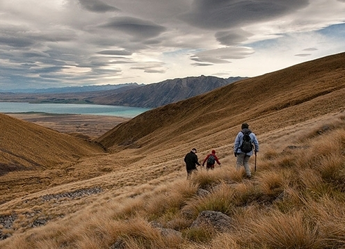 Founded in 1981 by Gottlieb and Anne Braun-Elwert, this family-run business takes pleasure in sharing New Zealand's spectacular mountains with trekkers, climbers and backcountry skiers. Our two private huts, in the Lake Tekapo area and in Aoraki Mount Cook National Park enable us to offer a high level of service for guided alpine adventures.