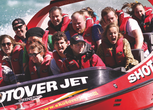Queenstown's world famous jet boat ride, Shotover Jet has thrilled over 3 million people since 1970. So take a spin in the iconic 'Big Reds' through the spectacular Shotover River Canyons with us!