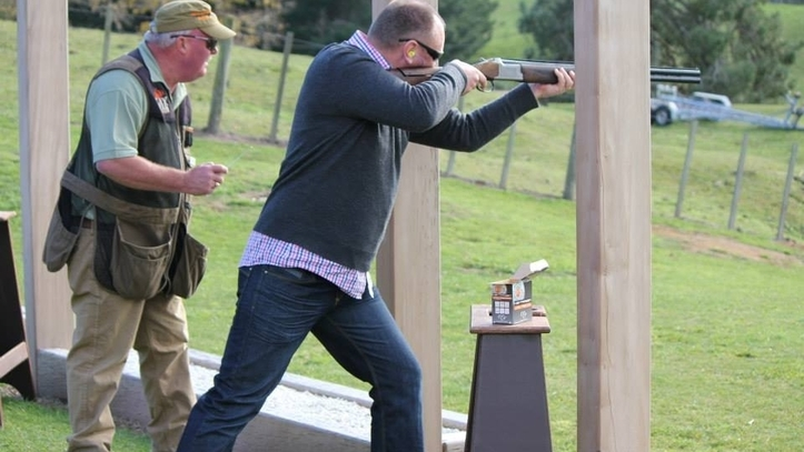 New Zealand Shooting Video Detail: Clay Target Shooting, Clay Bird