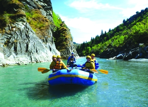 We are specialists in soft adventure trips rafting the gentle upper reaches of the famous Shotover River. Suitable for everyone from 3 years old. Water confidence is not necessary!