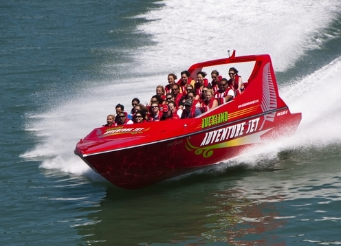 Auckland Adventure Jet is an adventure tourism activity for thrill seekers to see Auckland City a different way, by jet boat! Go for a spin around the beautiful Auckland Harbour, at speeds in excess of 50 knots while doing spins and tricks on the way! A unique and thrilling way to discover Auckland City and its surroundings.