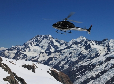 Mt Cook Ski Planes and Helicopters by INFLITE