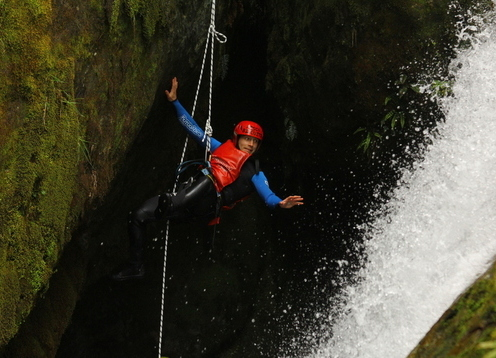 Canyoning is a great way to get into the more inaccessible but beautiful places that form part of New Zealand's stunning landscape. It is nature's waterpark!