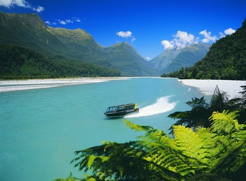 Haast River Safari - West Coast Jet boating