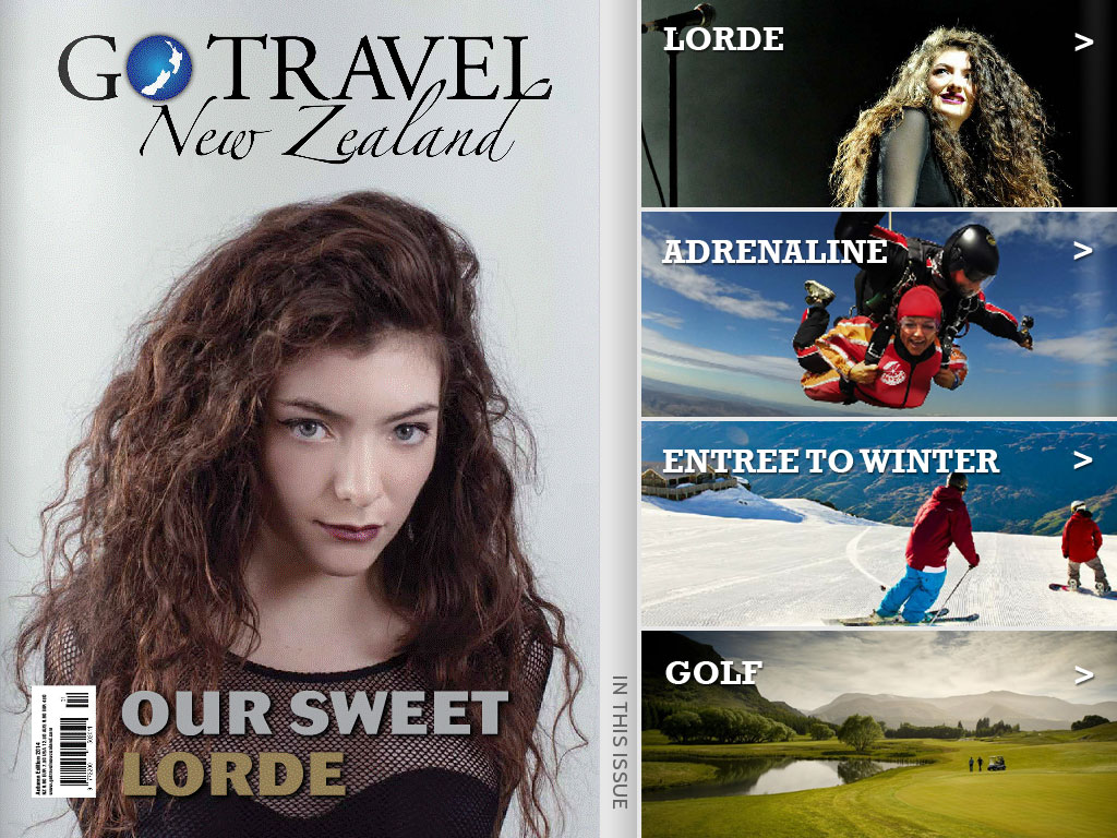 Go Travel New Zealand Magazine